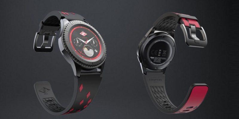 Samsung сделала часы Gear S3 frontier для фанатов Спартака (samsung spartak)