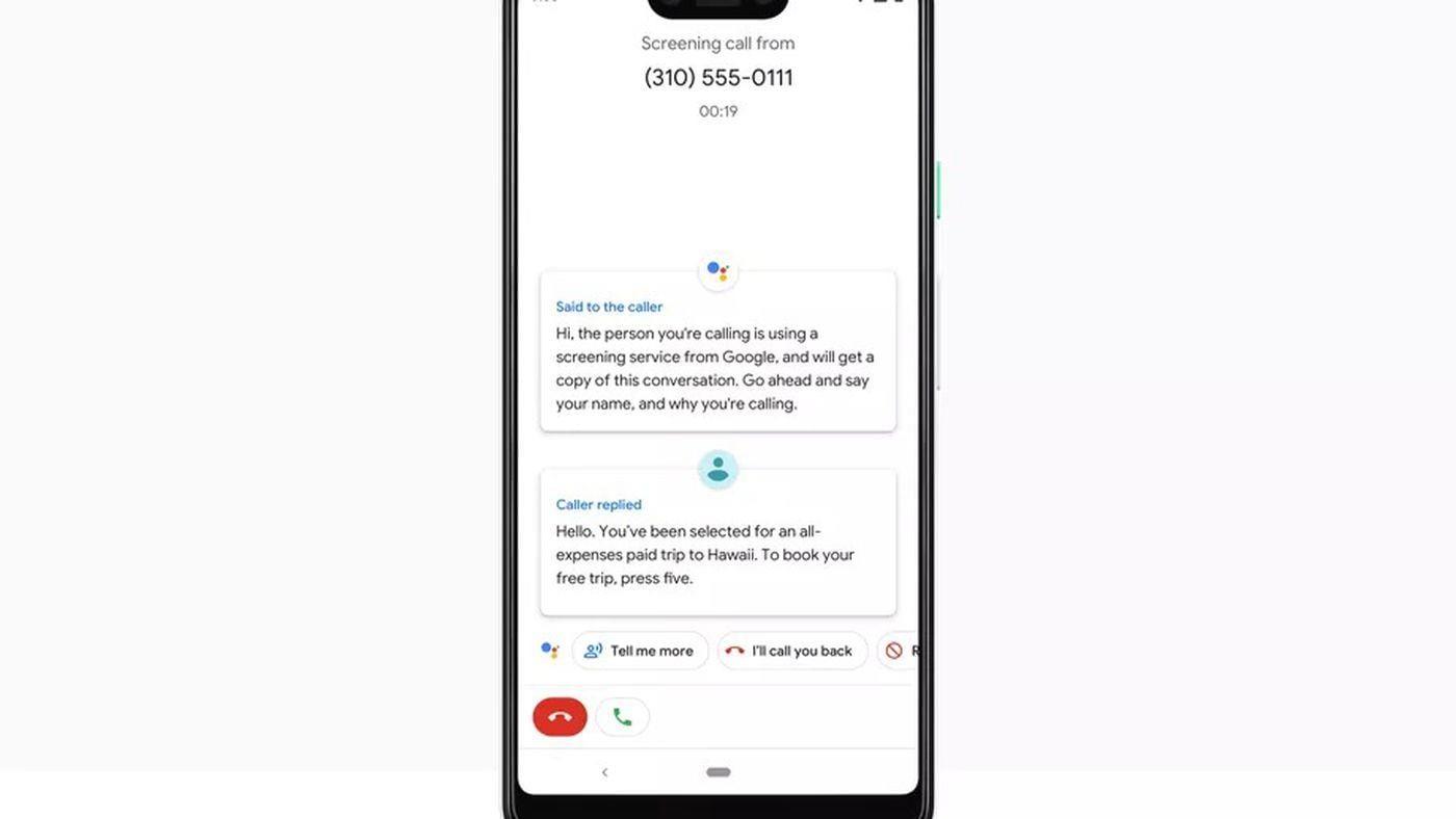 Функция Google Call Screen может скоро появиться на устройствах Android One ()