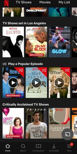 В Netflix появится режим случайных эпизодов (screenshot 20190418 174752 netflix)