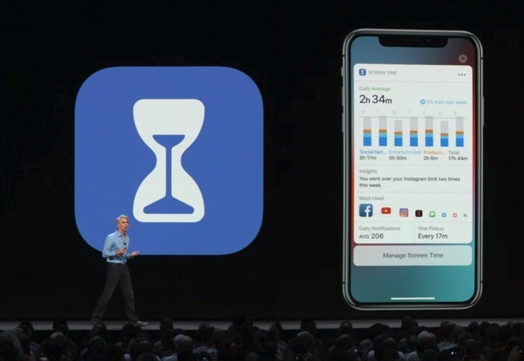 Глава Apple Тим Кук посоветовал владельцам iPhone поменьше пользоваться устройствами (screentime wwdc)