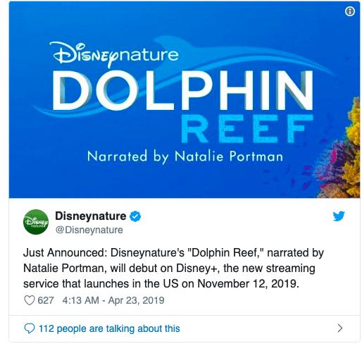 Натали Портман озвучит документальный фильм о дельфинах для стримингового сервиса Disney+ (snimok jekrana 2019 04 23 v 9.53.37)