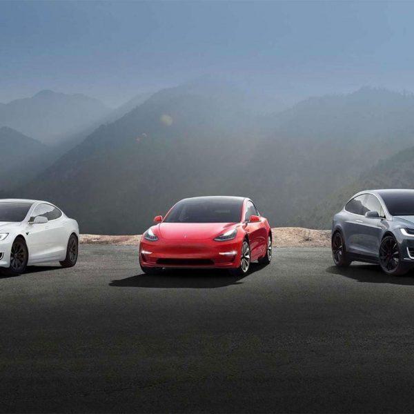На долю Telsa приходится почти половина от общего числа продаж электромобилей в Европе (tesla lineup model s 3 x)