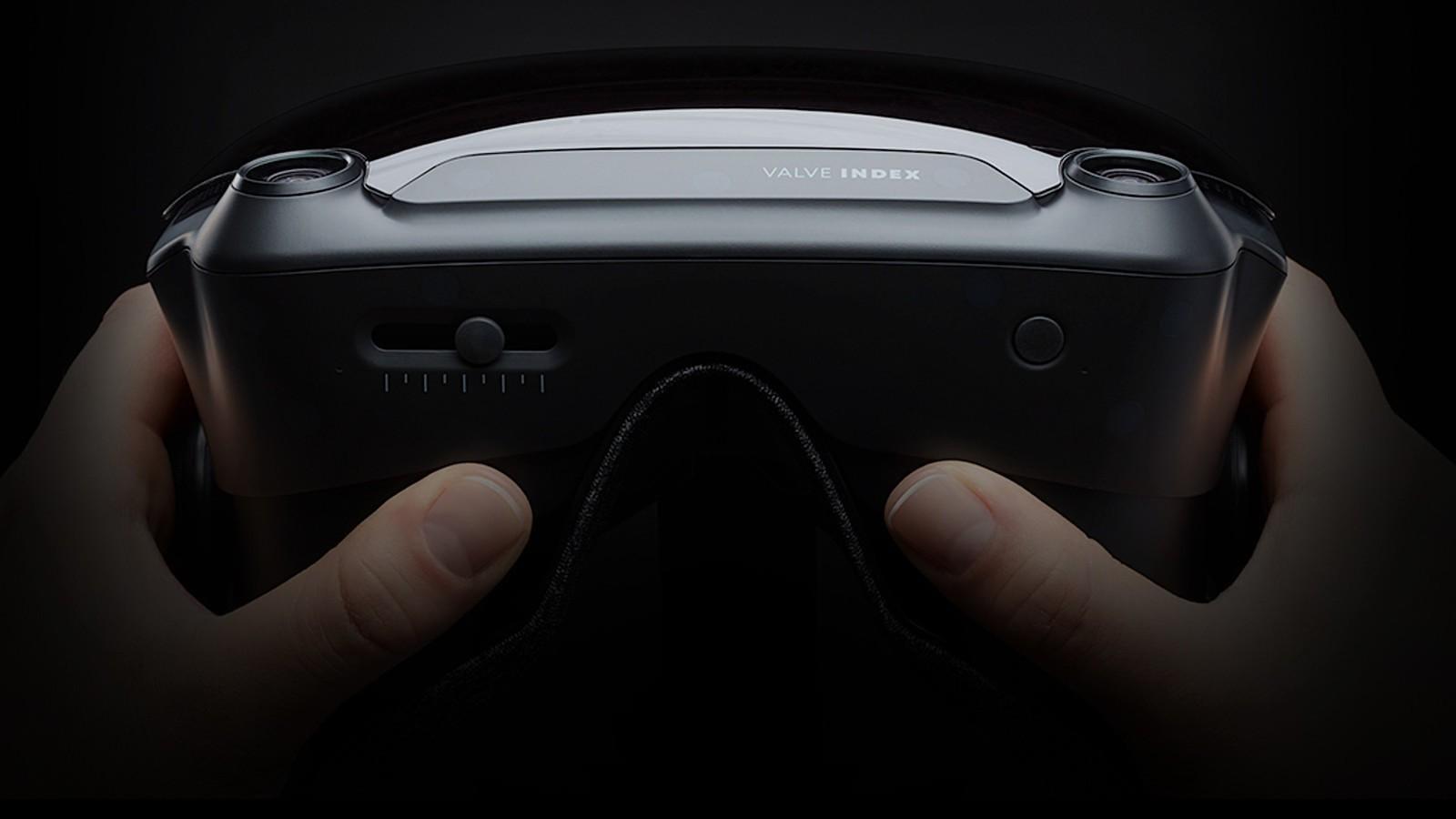 Очки виртуальной реальности Valve Index VR выпустят 15 июня (valve)