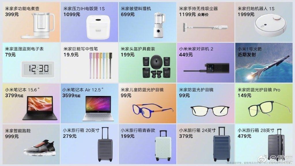 Xiaomi представила сразу 20 новинок. И это не шутка (xiaomi 20 new products large)