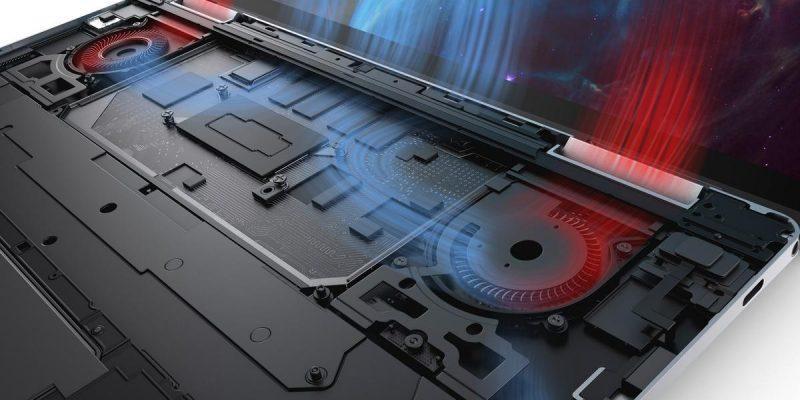 Dell представила ноутбуки-трансформеры XPS 13 2-in-1 с процессорами Intel 10 поколения (060059 xps 13 2 in 1 insides of thermals black)