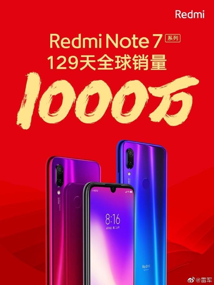 Xiaomi продала 10 миллионов устройств линейки Redmi Note 7 за 129 дней (68418ffbly1g3fmalj10ej20u0140tui)