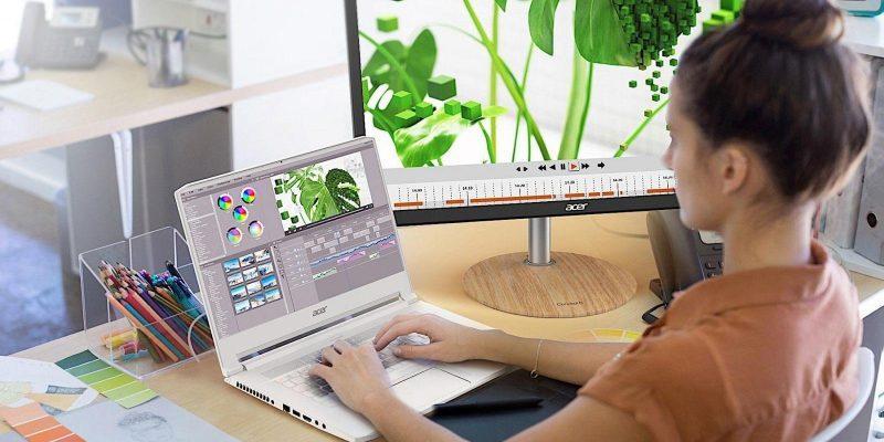 Acer анонсировала ноутбук ConceptD 7 с видеокартой NVIDIA Quadro RTX 5000 (acer conceptd 7 1)