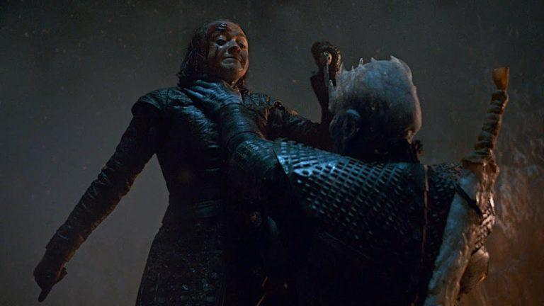 4 эпизод 8-го сезона Игры престолов только что слили в сеть. Почти без спойлеров (arya stark in hands of night king)