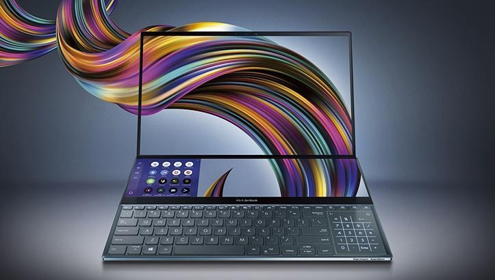 Asus представила ноутбук Asus ZenBook Pro с двумя 4K-экранами (asus zenbook pro duo)