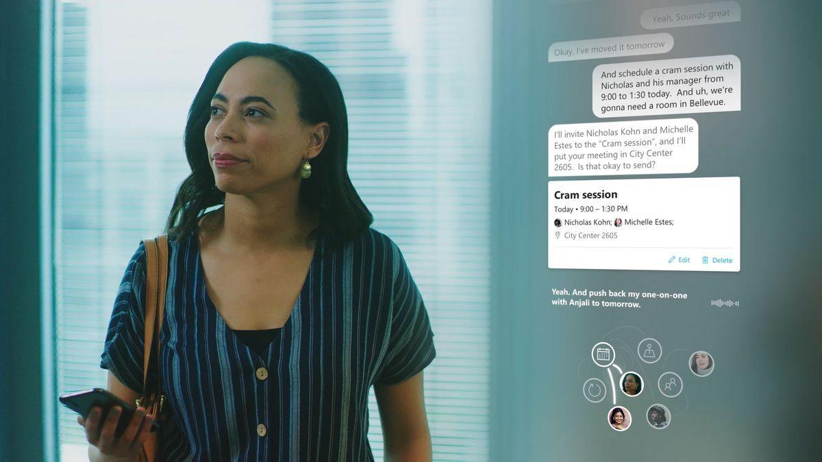 Build 2019: голосовой помощник Microsoft Cortana сможет поддерживать диалог с пользователем ()