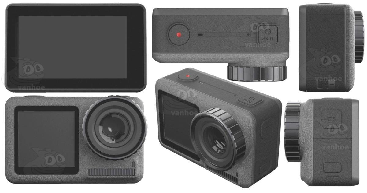 Характеристики камеры DJI OSMO Action Cam слили в сеть (dji osmo action camera2)