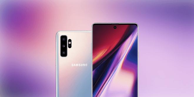 Samsung Galaxy Note 10 останется без стандартного разъема для наушников и физических клавиш (galaxy note 10 render)