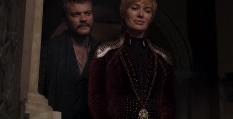 4 эпизод 8-го сезона Игры престолов только что слили в сеть. Почти без спойлеров (game of thrones season 8 episode 4 trailer cersei)