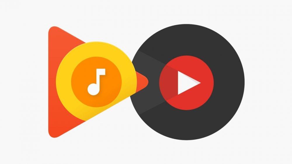 Количество подписчиков YouTube Music и Google Play Music достигло 15 миллионов (google play youtube music)