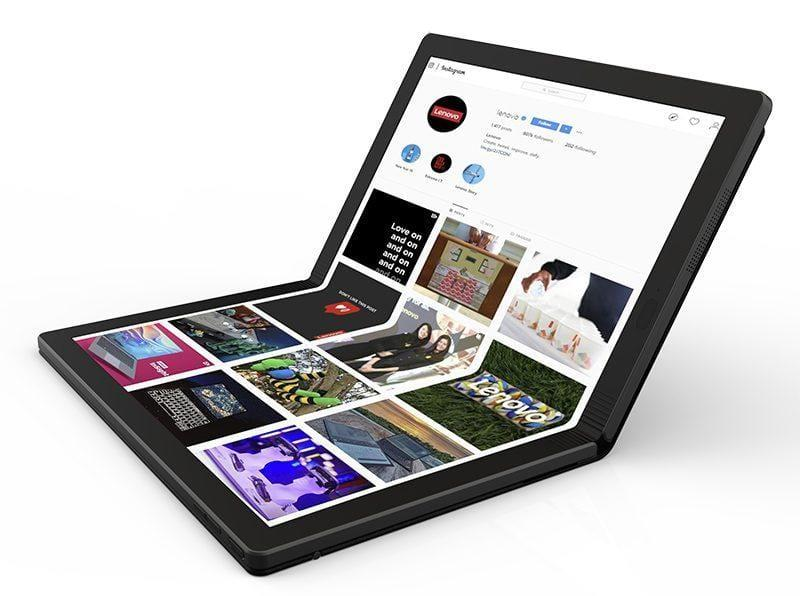 Lenovo представила прототип ноутбука со складным экраном (lenovofoldablepc2)
