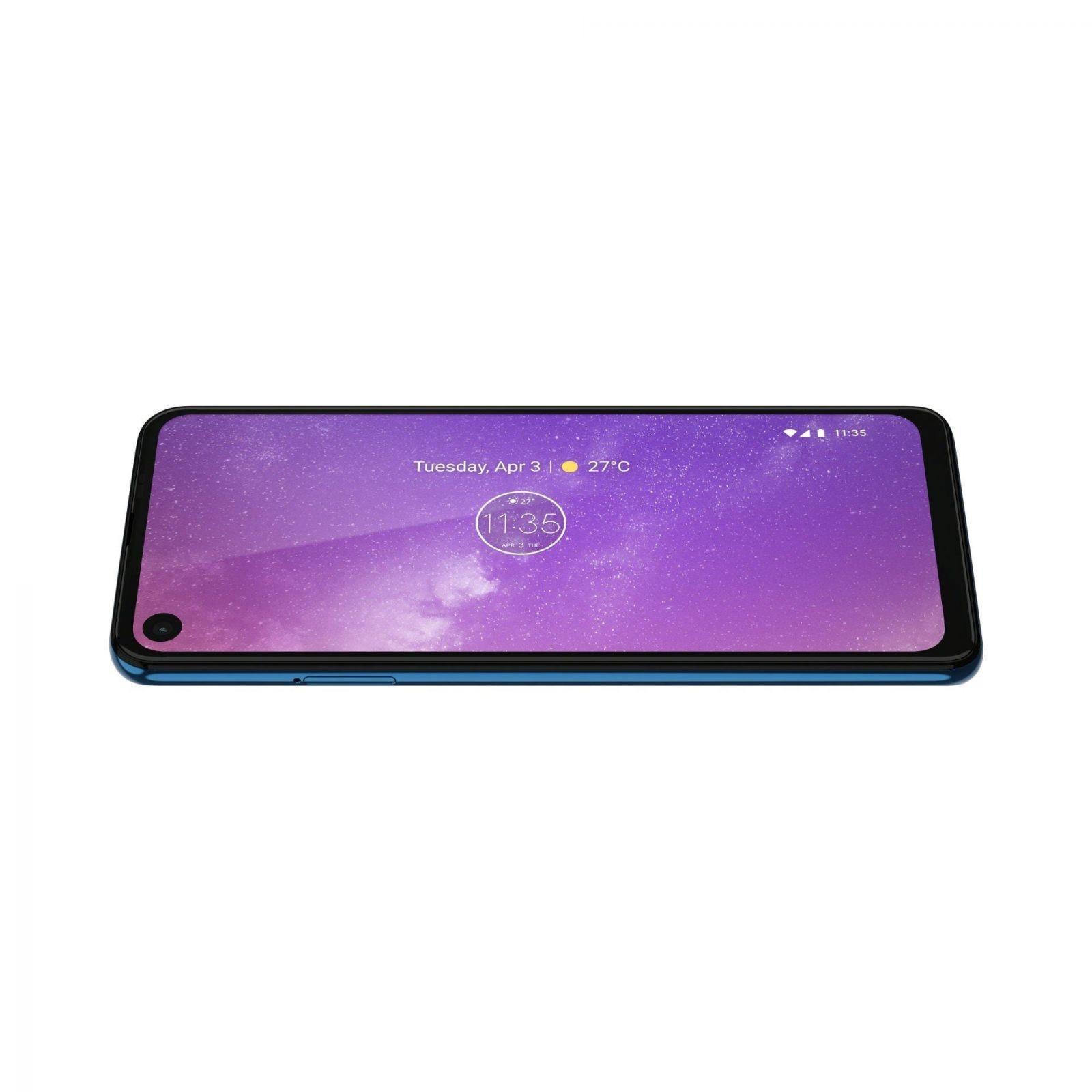 Motorola представила новый смартфон Motorola One Vision (motorola one vision row sapphire gradient max vision 2)