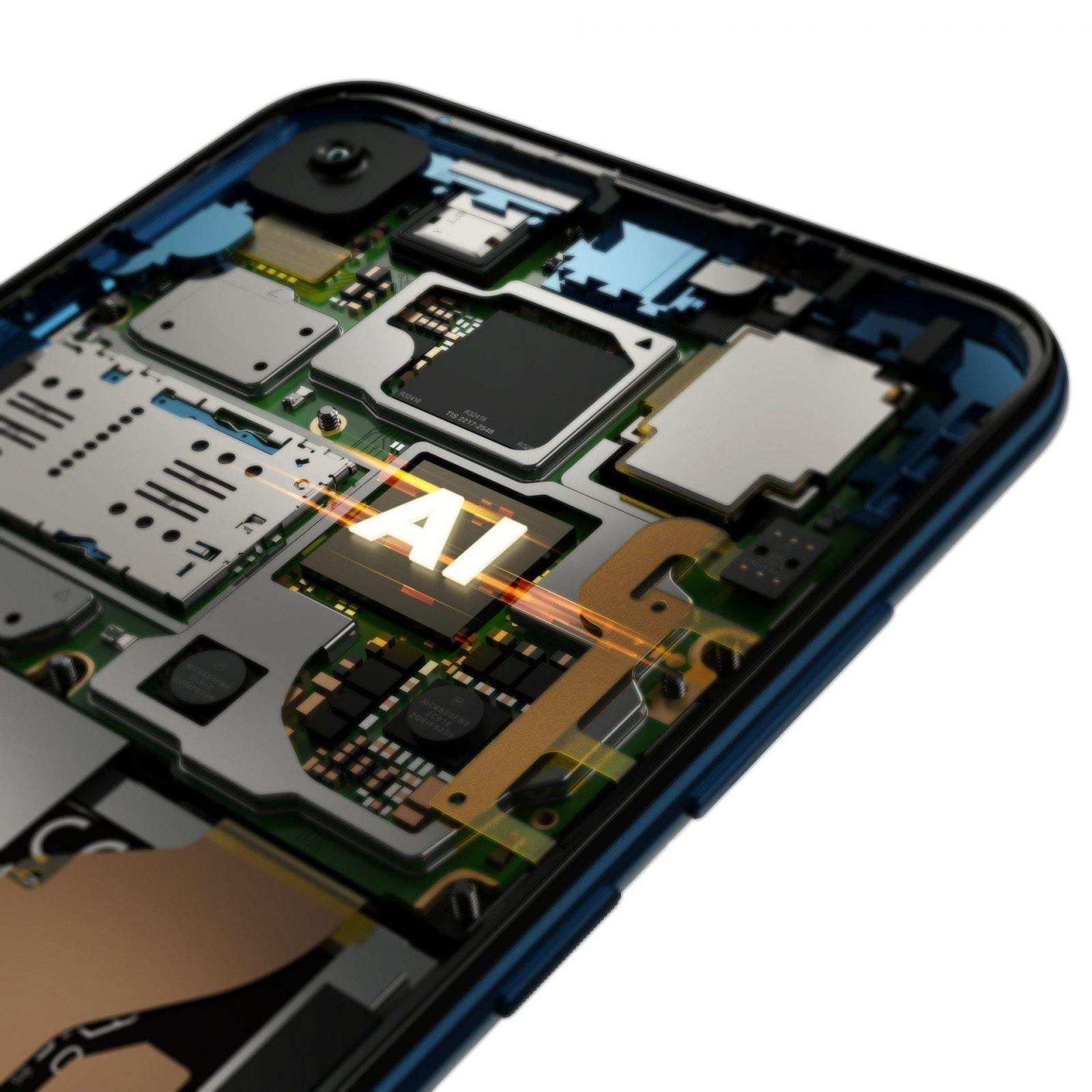 Motorola представила новый смартфон Motorola One Vision (motorola one vision row sapphire gradient processor)