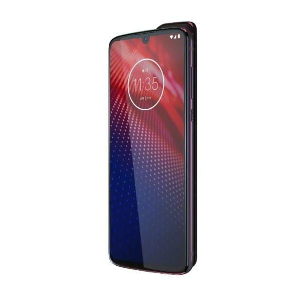 Motorola анонсировала смартфон Moto Z4 со Snapdragon 675 (motoz4 flash gray mods 5g dyn frontside right)