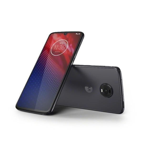 Motorola анонсировала смартфон Moto Z4 со Snapdragon 675 (motoz4 flashgray combo)