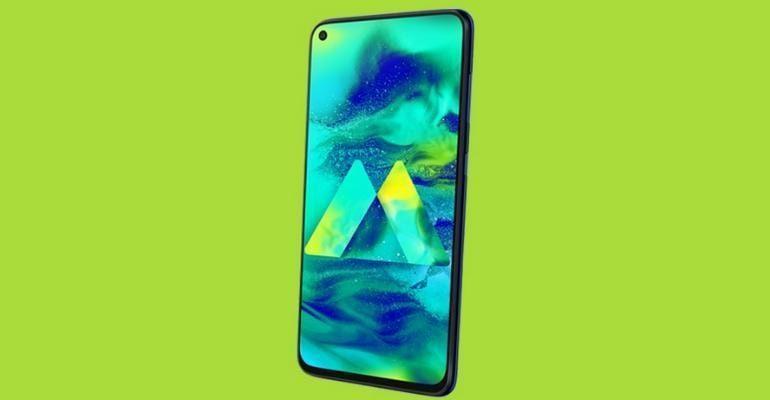 В сети появился качественный пресс-рендер смартфона Samsung Galaxy M40 (samsung galaxy m40 1)