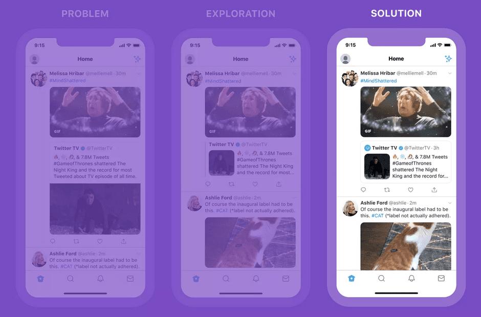 Теперь пользователи Twitter смогут добавлять медиа-файлы в ретвит (tweet)