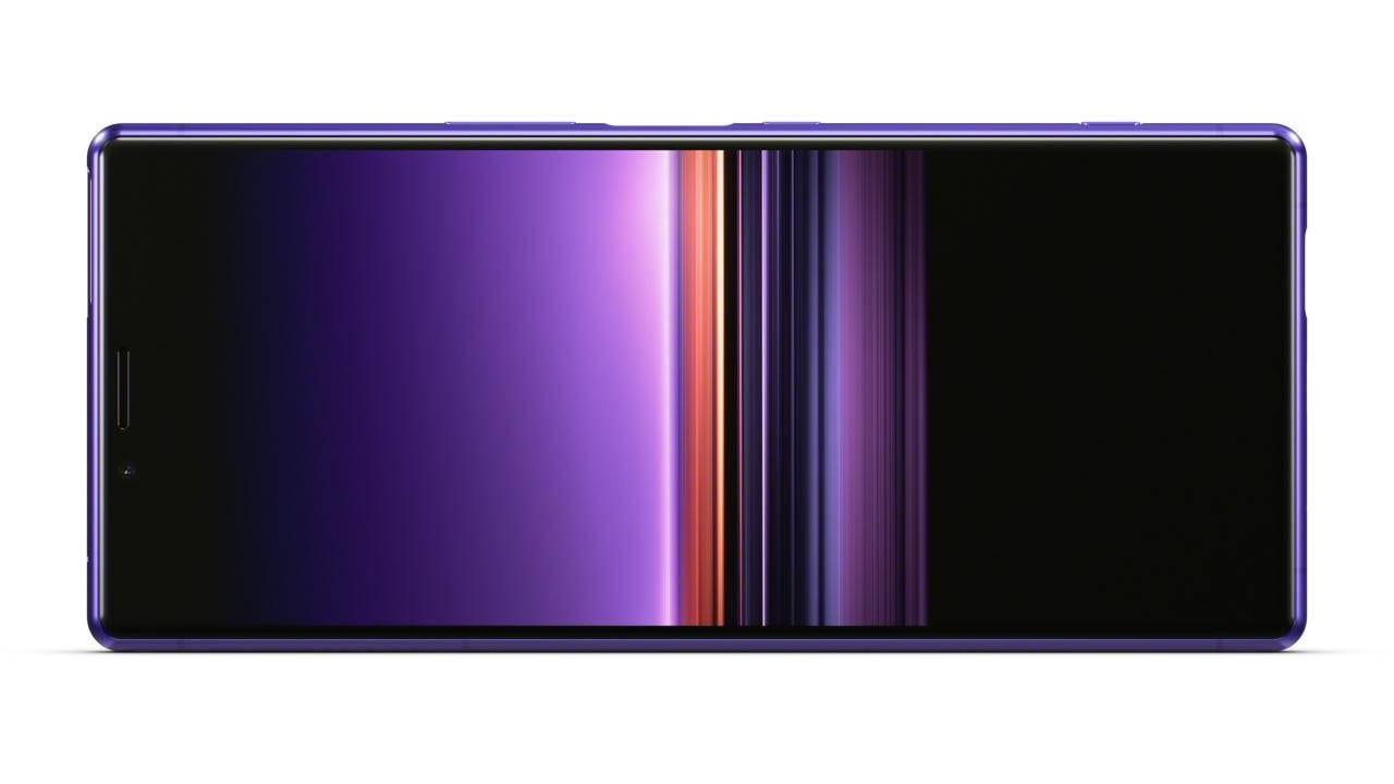 Sony Mobile подтвердила уход с большинства рынков (xperia 1 fronthoriz purple wo clock)