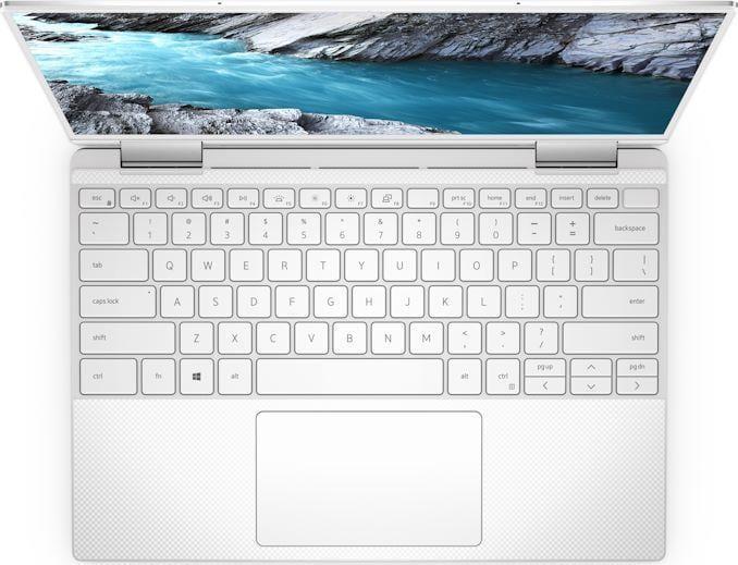 Dell представила ноутбуки-трансформеры XPS 13 2-in-1 с процессорами Intel 10 поколения (xps 13 2 in 1 overhead view)