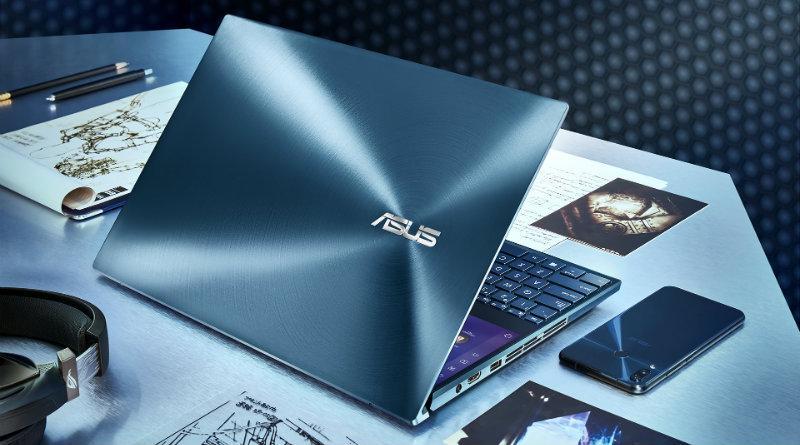 Asus представила ноутбук Asus ZenBook Pro с двумя 4K-экранами (zenbook pro duo ux581 celestial blue design)