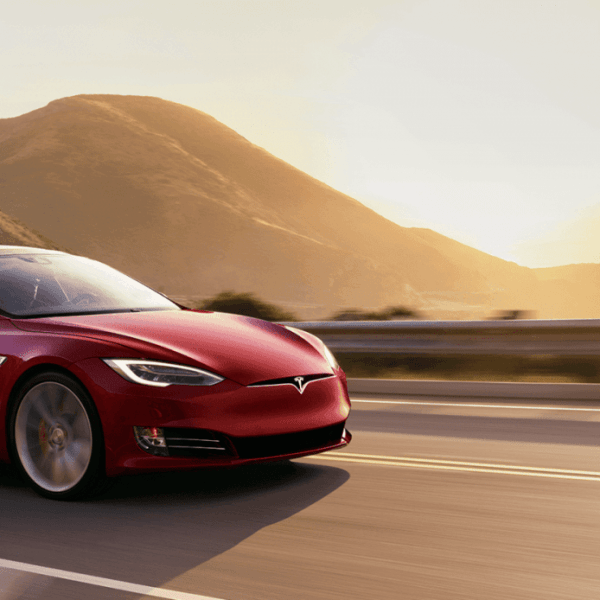 Таинственный автомобиль Tesla может быть обновлением Model S (2120x920 ms redsunset.0)
