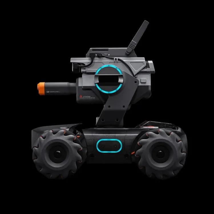 DJI совмеcтила образование и соревнование в роботе RoboMaster S1 (c6fc0f63749f29491b7fca85fb0f2dbe)