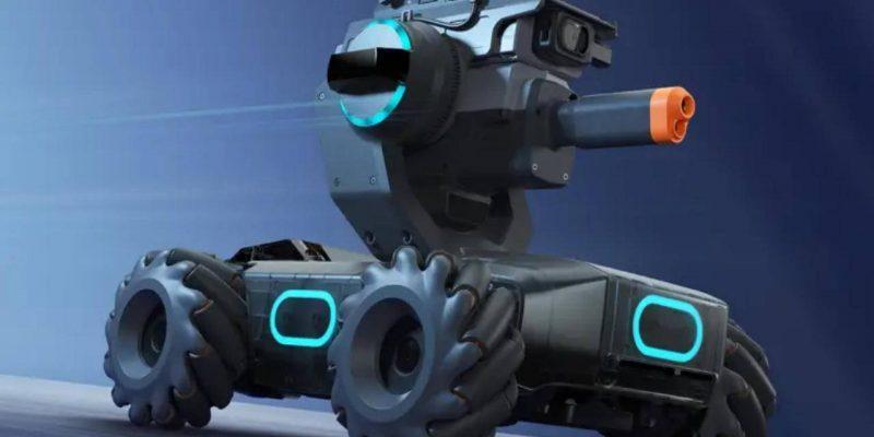 DJI совмеcтила образование и соревнование в роботе RoboMaster S1 (dji robomaster 1 1280x720 1)