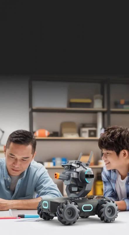 DJI совмеcтила образование и соревнование в роботе RoboMaster S1 (fccee2c3627882b261e226fd84c57969)