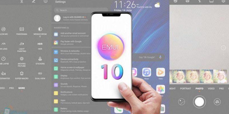 Стало известно, какие смартфоны Huawei обновятся до Android Q и EMUI 10 (huawei emui 10 1 900x506 1)