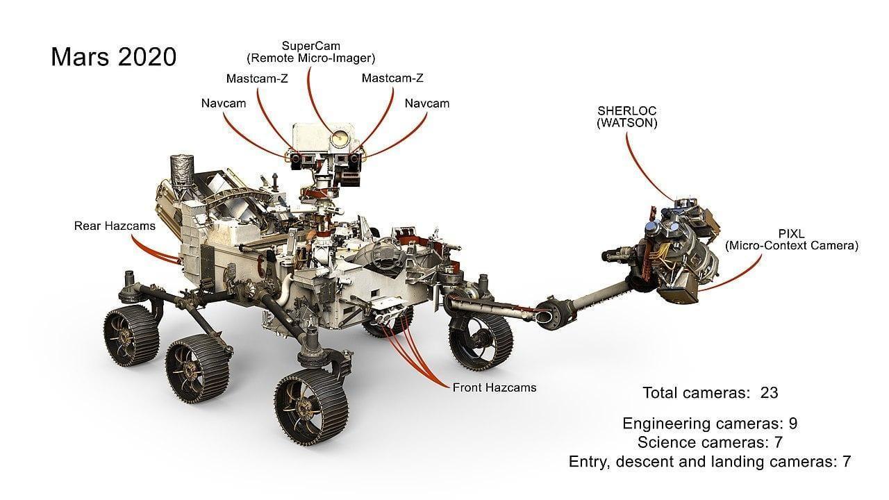Mars 2020 получил новую руку (mars1)