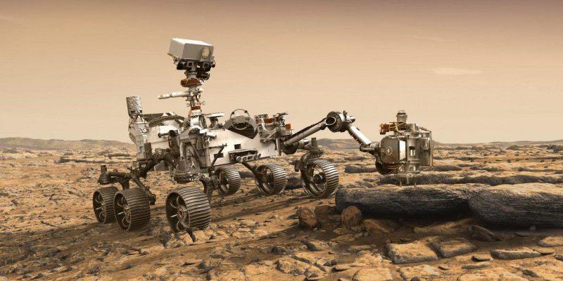 Mars 2020 получил новую руку (mars2020logo 1)