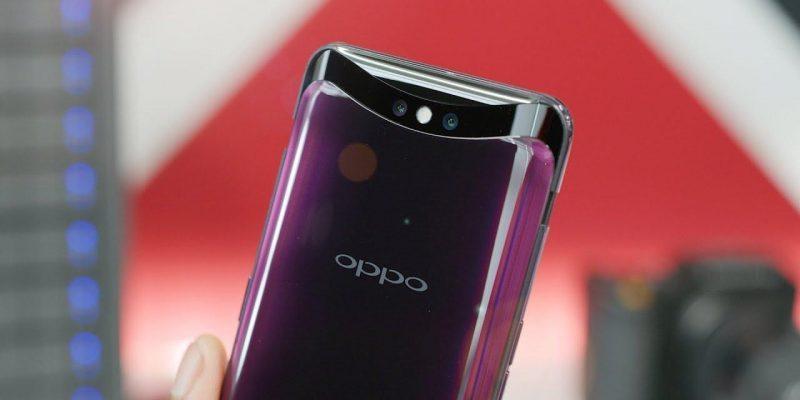 Oppo впервые продемонстрировала подэкранную селфи-камеру (oppo find x)