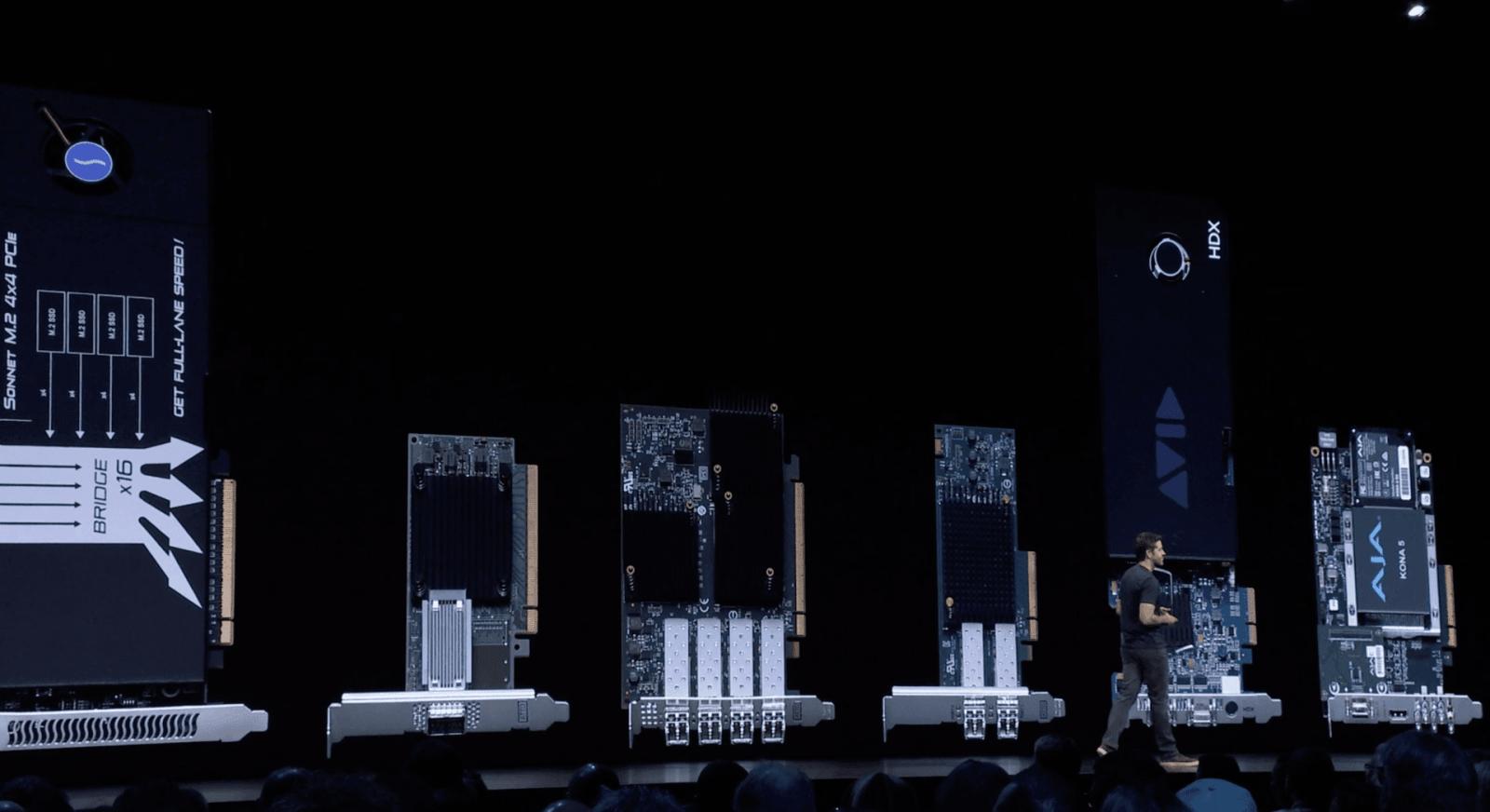 WWDC 2019. Apple показала новый модульный компьютер Mac Pro (screen shot 2019 06 03 at 14.23.16 pm)