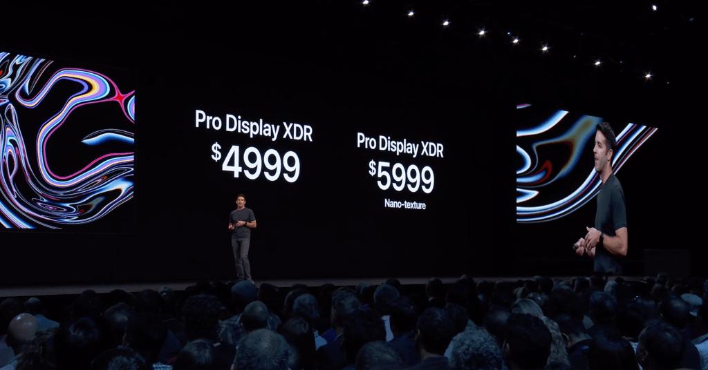 WWDC 2019. Apple представила 32-дюймовый дисплей Pro Display XDR стоимостью $4999 (screen shot 2019 06 03 at 14.42.49 pm)