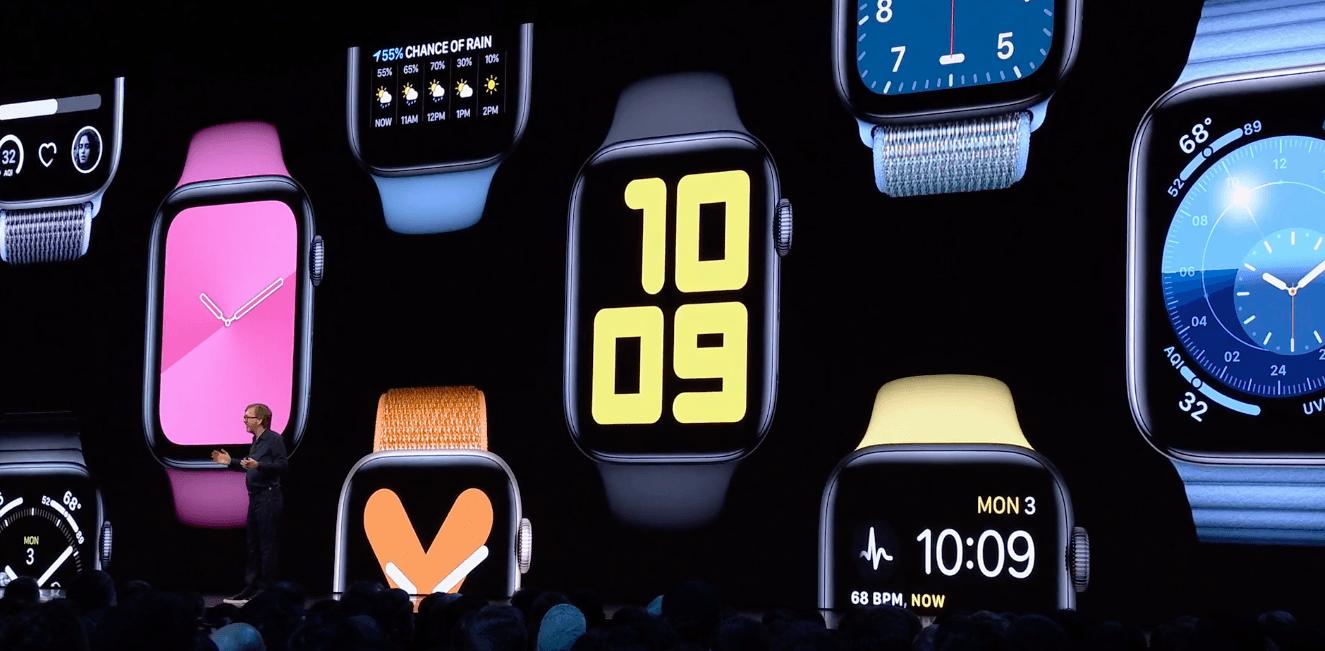 WWDC 2019. Apple показала новую версию операционной системы для Apple Watch - watchOS 6 (snimok jekrana 2019 06 04 v 0.14.03)