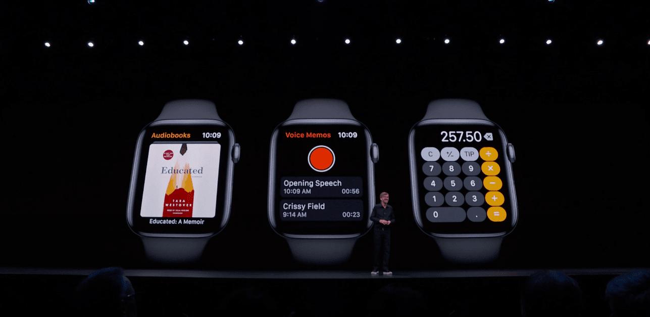 WWDC 2019. Apple показала новую версию операционной системы для Apple Watch - watchOS 6 (snimok jekrana 2019 06 04 v 0.16.01)