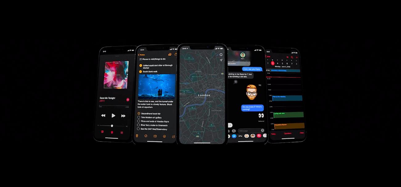 WWDC 2019. Apple представила iOS 13: Темный режим, улучшение производительности и многое другое (snimok jekrana 2019 06 04 v 0.31.51)