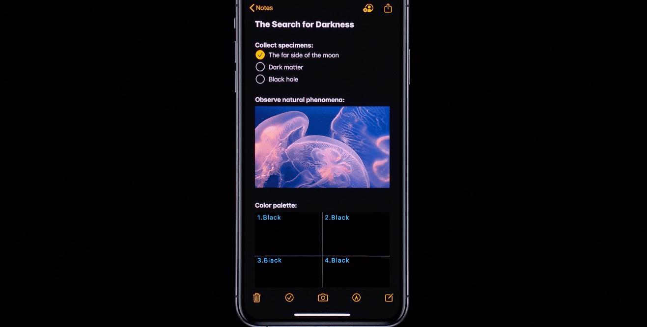 WWDC 2019. Apple представила iOS 13: Темный режим, улучшение производительности и многое другое (snimok jekrana 2019 06 04 v 0.33.03)