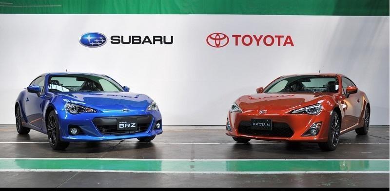 Toyota и Subaru совместно разработают платформу для электромобилей (subaru brz toyota 86)