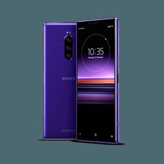 Sony выпустила смартфон Xperia 1 в России ()