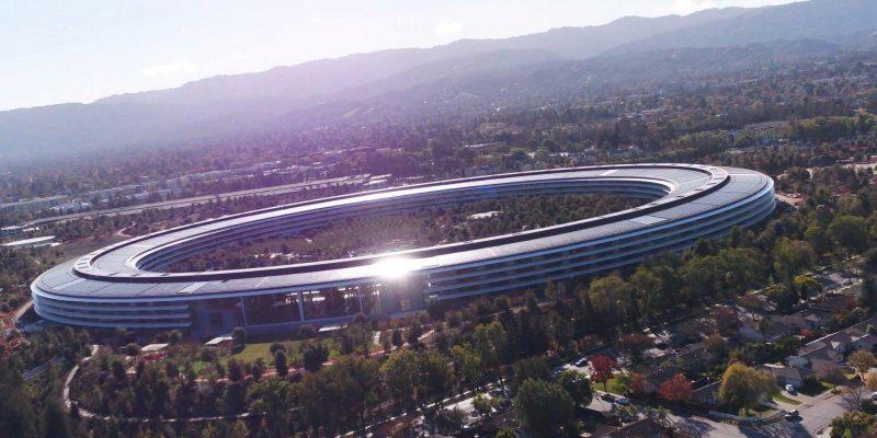 Apple пригласили журналистов на своё ежегодное мероприятие, посвящённое iPhone (apple park duncan sinfield 001 december 2017)
