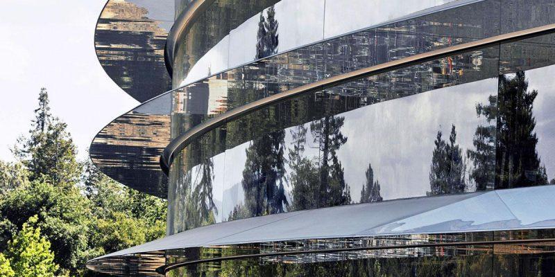 Apple откладывает возвращение в офисы из-за роста числа случаев COVID-19 (apple park cupertino 5 20180106 1221453186)