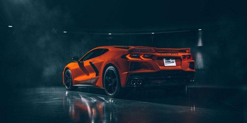 У Corvette 2020 года двигатель будет сзади (c8 rear3q 1563515228)