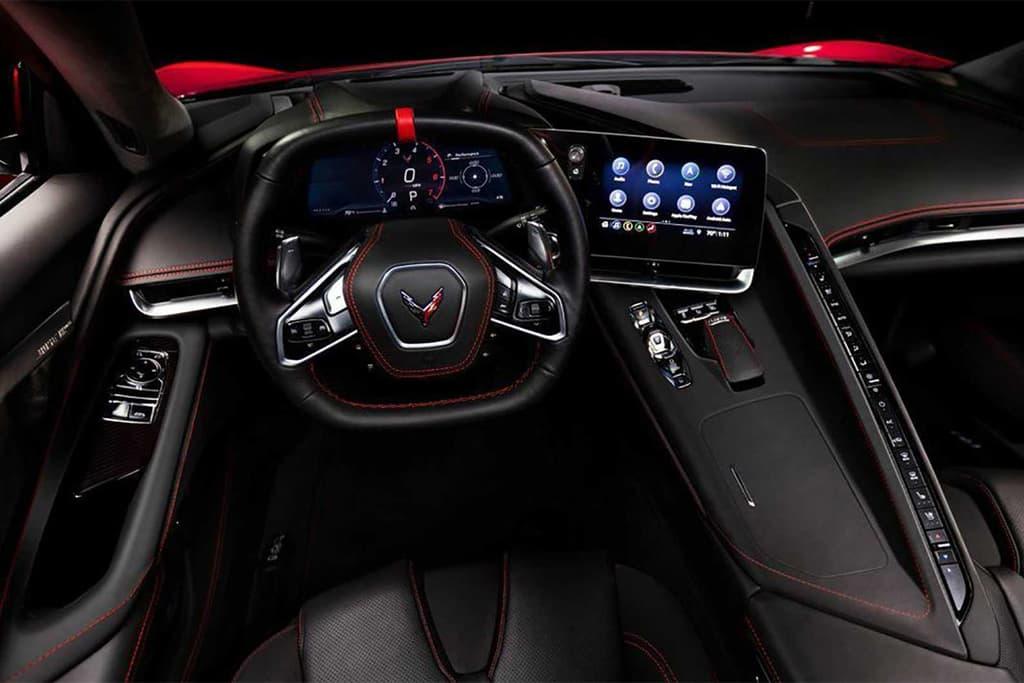 У Corvette 2020 года двигатель будет сзади (covette leak 1)