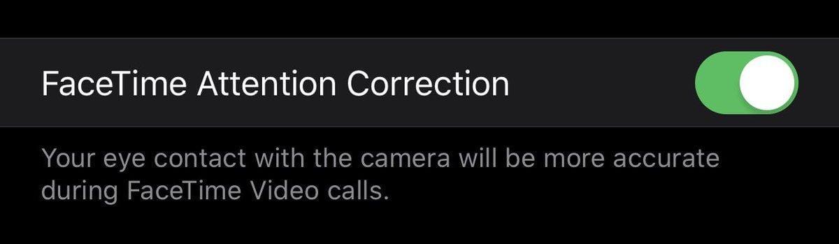 В iOS 13 будет симуляция зрительного контакта в FaceTime (d fk3ubwsaawmck)