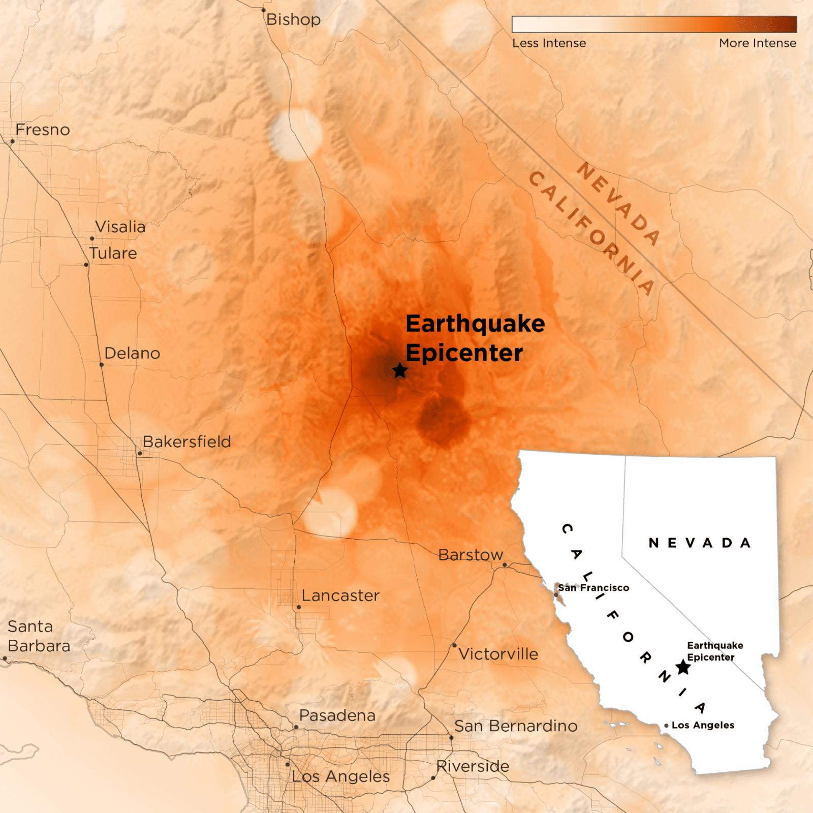 Последствия Калифорнийского землетрясения видно из космоса (dmscm9a95frtmvpalgcs)